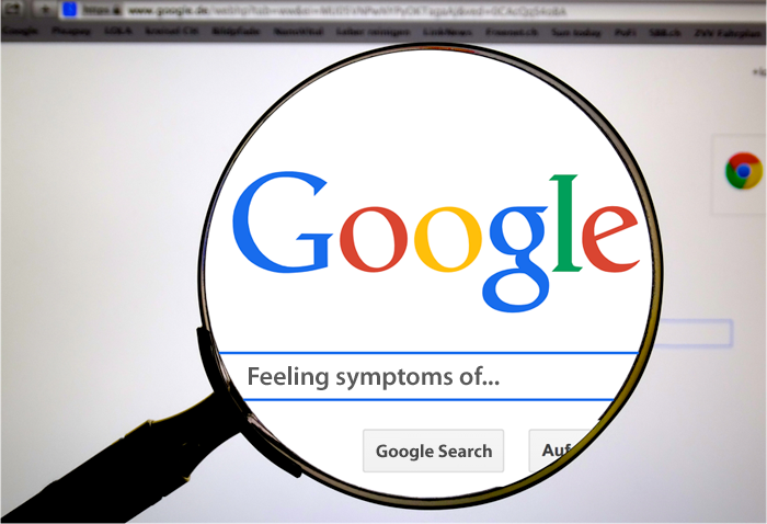 The Pitfalls of Self Diagnosis on the Internet